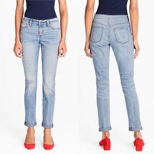 J. Crew Factory Distressed Boyfriend Jeans